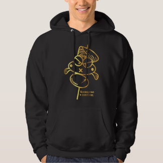 Curry Fish Ball | Black Men Hoodie