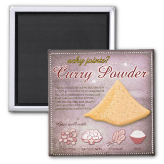 Curry Powder Magnet
