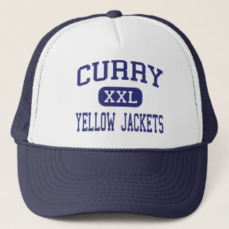 Curry - Yellow Jackets - High - Jasper Alabama Trucker Hat