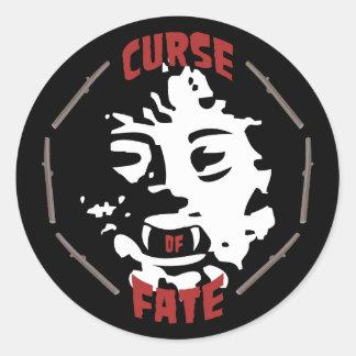 Curse of Fate Classic Round Sticker
