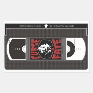Curse of Fate VHS Sticker