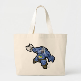 Cursed Viking Large Tote Bag