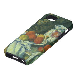 Curtain and Flowered Pitcher by Paul Cezanne iPhone 5 Cover
