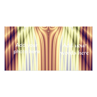 Curtain Call Spotlights Fractal Photo Card Template