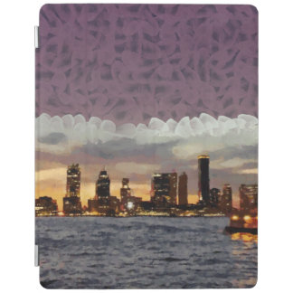 Curtain coming down iPad cover