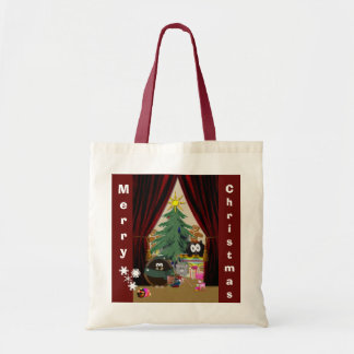 Curtain rises on a fun Holiday Tote Bag