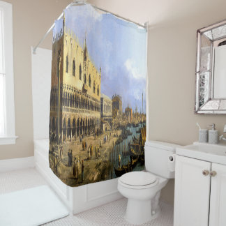 Curtain shower canaletto venise