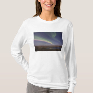 Curtains of colored northern lights T-Shirt