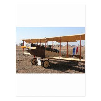 Curtiss Jenny Biplane Aircraft Postcard