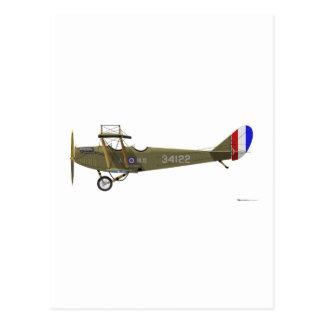 Curtiss JN-4 Jenny Postcard