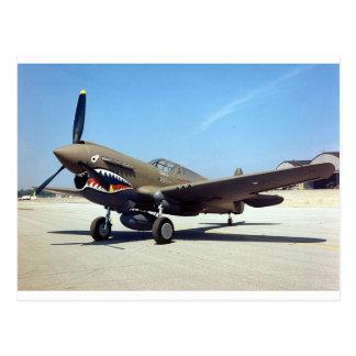 curtiss P-40 tomahawk Postcard