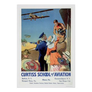 Curtiss School of Aviation (US02053) Poster