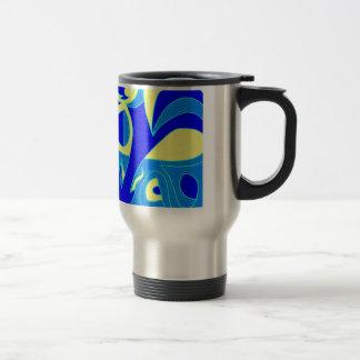 Curve Agression Coffee Mug