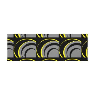 Curve Design Canvas Print