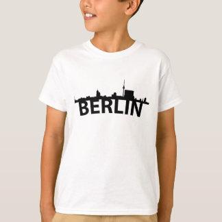 Curved Skyline Of Berlin Germany T-Shirt
