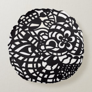 Curves and Spheres 2 Round Pillow