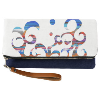 Curves and Swirls Clutch