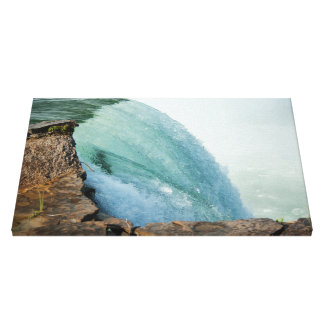 Curves of the Edge Canvas Print