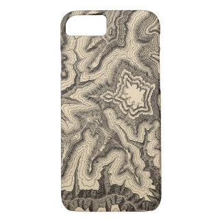 Curves, projecting cusps of the walls iPhone 7 case