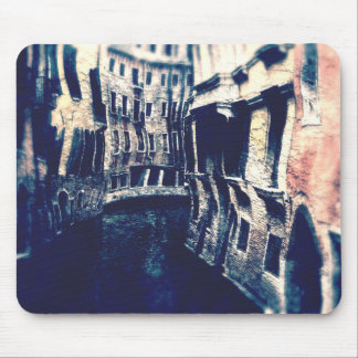 Curving Canals of Venice Mouse Pad
