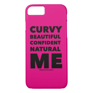 Curvy Beautiful Natural Me iPhone 7 Case