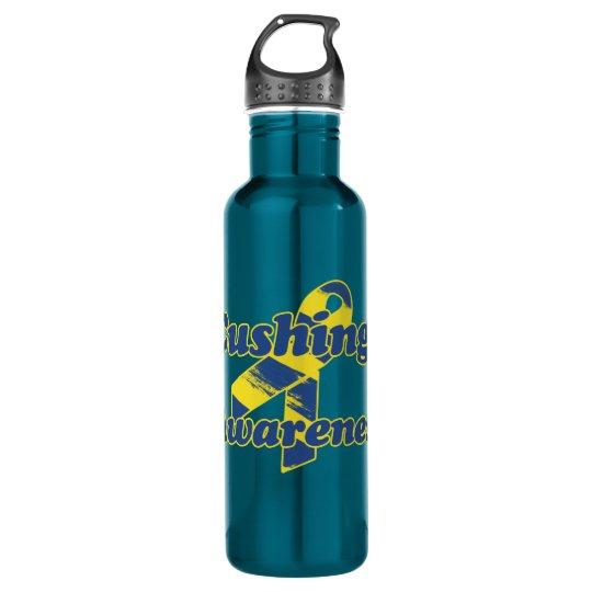 Cushings Awareness Ribbon 710 Ml Water Bottle