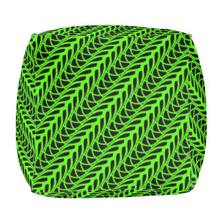Cushion cubes Jimette Design green and black