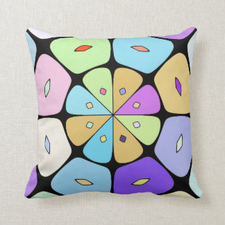 "Cushion déco ""stylized Fleur POP ART """