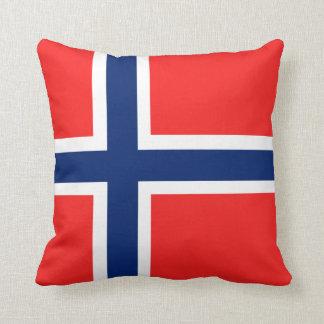 Cushion Flag of Norway 40,6 cm x 40,6 cm
