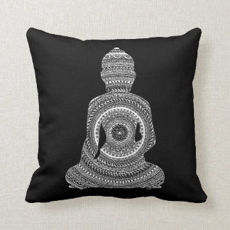Cushion GraphiZen Buddha Throw Pillow