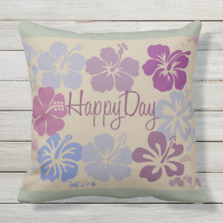 Cushion Happy Day Throw Pillow
