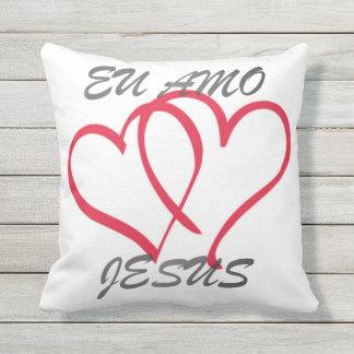 Cushion I love Jesus