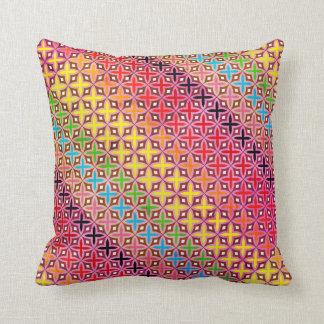 Cushion Multicoloured Reason cross Abstract