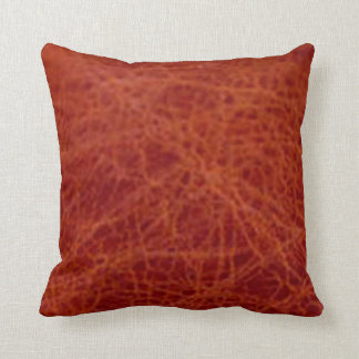 Cushion - Old / Cracked Brown Leather effect