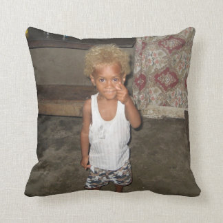 Cushion personnalisable two sides