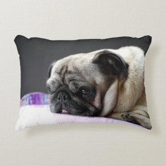Cushion pug Pug Carlin - by Jean Louis Glineur