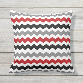 Cushion Red/Gray Rafter