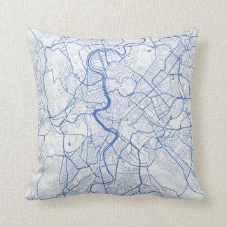 Cushion Rome urban Pattern BLUE