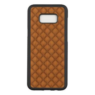 Cushion Samsung Galaxy S8+ Slim Cherry Wood Case