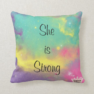 Cushion She is Strong