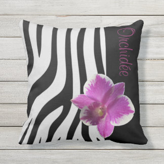 Cushion Streaks/Orchidée