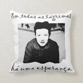 Cushion the Hope of Simone de Beauvoir