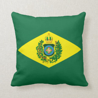 Cushion with Imperial Flag of Brazil