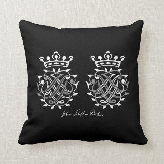 Cushion with Johann Sebastian Bach seal