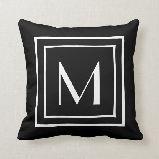 Cushion with Letter