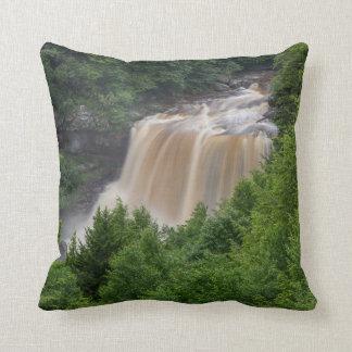 cushion with waterfall