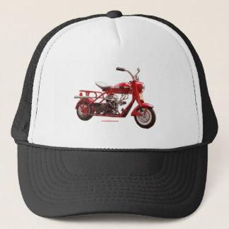 Cushman_Blue_texturizer Trucker Hat