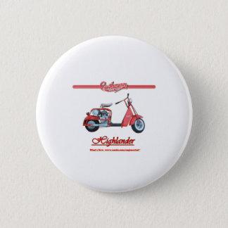 Cushman Highlander Scooter 2 Inch Round Button