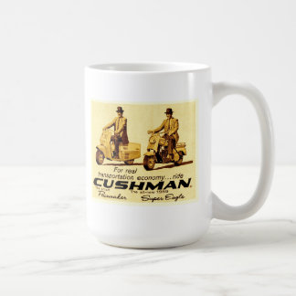 Cushman Pacemaker and Super eagle scooters Coffee Mug