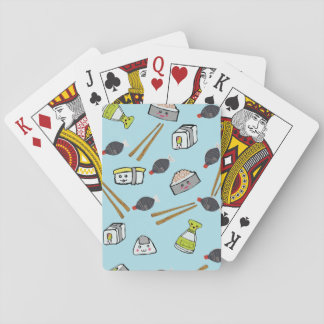 Cushy Sushi playing cards